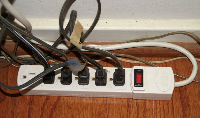 Surge protection and power strip safety